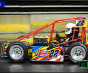 ERICK RUDOLPH, TED CHRISTOPHER AND RYAN FLORES TAKE NIGHT ONE BATTLE OF TRENTON TRIPLE TWENTIES INDOORS FOR THREE QUARTER MIDGETS
