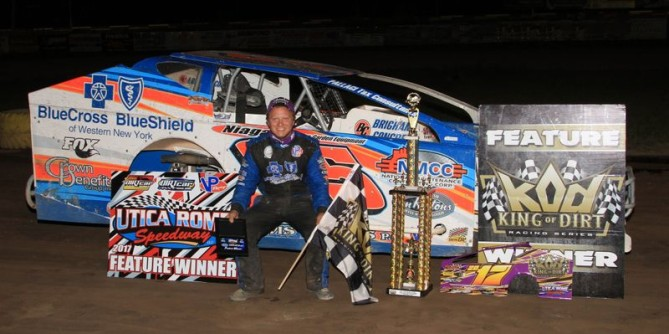 KING ERICK REIGNS SUPREME AT UTICA-ROME SPEEDWAY – DTD EXCLUSIVE